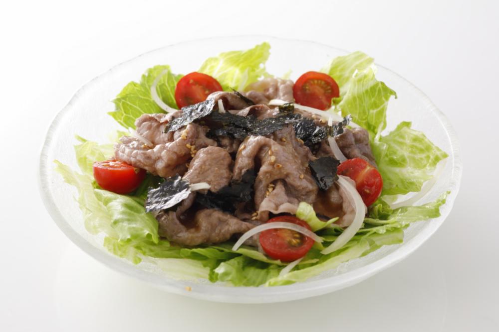肉サラダ~おろしわさびソース~