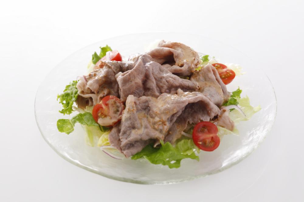 肉サラダ~ごまポンソース~