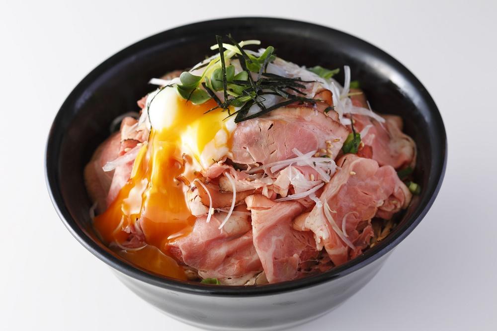 焼き鳥のタレで作る!ローストビーフ丼
